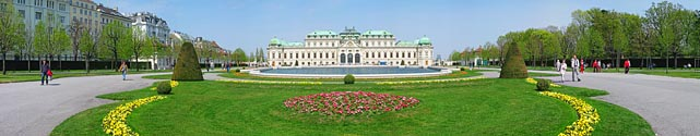 Belvedere Palace - Click to enlarge