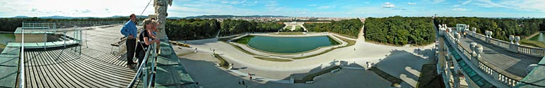 View from Gloriette - Click to enlarge